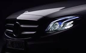 mercedes benz new car releaseNew MercedesBenz EClass Teaser Released World Premiere on