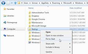 Where Is The Startup Folder How To Edit Startup Items In Windows 8