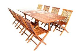 folding wooden table a wooden outdoor