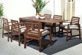 outdoor wood dining table patio tables seats 8 and chairs