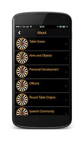 mobile app for members group round table