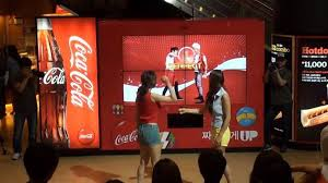 How To Get Free Coke From Vending Machine Best Vending Machine Makes You Dance For A Free Coke Bsomultimedia English
