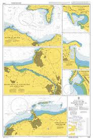 Admiralty Chart 2494 Plans On The North Coast Of Ireland