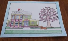 A color palette for home design has the power to set the mood for a room, as well as the three basic color schemes for your house below are listed from lowest to highest energy: 35 Dog Coloring Pages Breeds Bones And Dog Houses