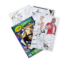 View and print full size. Crayola Giant Coloring Pages Avengers Oversized Coloring Pages Art Activity Crayola