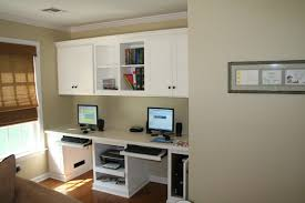 design office desk home. Home Office : Wall Desks Design Ideas And Tures Small Desk Furniture Heavenly Custom Mounted White Cabinet Over Computer Double Pull Out Keybord 1