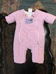 Merlin S Magic Sleepsuit Sizing Chart Details About Baby Merlins Magic Sleepsuit Sleep Suit Pink Fleece Size Large 6 9 Months