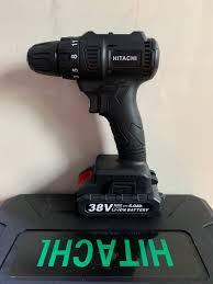 Máy Khoan Pin Vặn Vít Hitachi 38v- Động cơ không chổi than: Mua bán trực  tuyến Máy khoan với giá rẻ