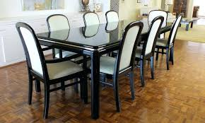 vintage lane lido black lacquer dining room table and chairs vintage lane lido black lacquer dining