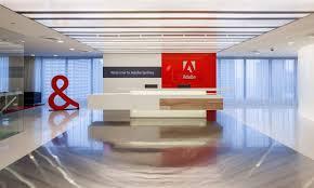 adobe office. interesting adobe reception  for adobe office