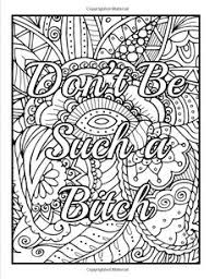 amazon calm the down and color an coloring book with swear words sweary phrases and stress relieving flower patterns for anger release
