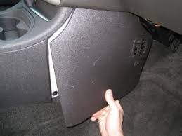 interior how to upgrade the stock pioneer sub to sound awesome and run the remote wire to the fuse box which is on the passenger side of the center console to remove the cover simply grab the bottom and tug firmly