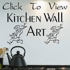 kitchen wall art decor e vinyl rules uk decal metal modern wonderful ideas