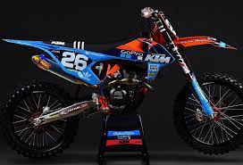 Check Out The Deal On Throttle Syndicate 2018 Tld Washougal Team Graphics Kit Blue At Bto Sports Ktm Motocross Motocross Bikes