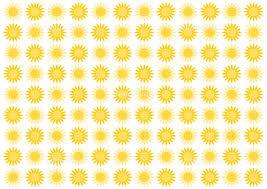 夏 ひまわり イラスト 模様 背景 イラスト素材 5493409 フォト
