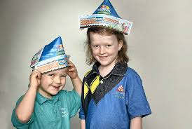 Paper Flower Hats Kids Get Creative With Paper Hats For Carnival Of Flowers