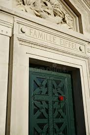 <b>Gustave Eiffel</b> Family Vault Cemetery France. Sunlight, <b>rose</b>.