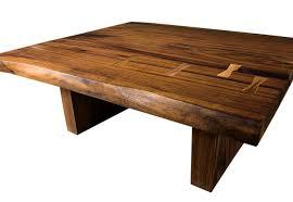 Black Walnut Coffee Table Design Live Edge Black Walnut Coffee Table On Wood Furniture