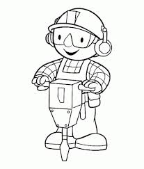 Small Picture Bob The Builder Muck Coloring Page Coloring Coloring Pages