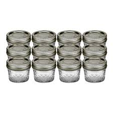ball 4 oz mason jars. ball 80400 can or freeze quilted crystal jelly jars, 4oz 4 oz mason jars ~