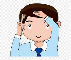 combing hair clipart. Contemporary Clipart Boy Comb Hair Clipart  Clip Art And Combing L