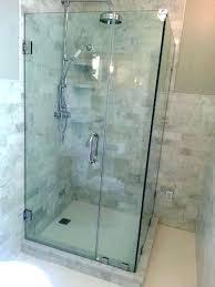 diy frameless glass shower doors shower door glass enclosures walls cost diy frameless glass shower enclosures