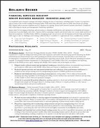Functional Analyst Resume Sample New Resume Financial Analyst Resume