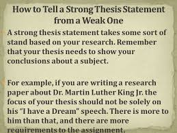 what is a thesis statement ppt video online  12 how