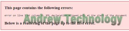 wordpress sitemap xml this page contains the following errors error on line 3