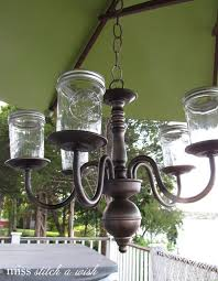 hanging mason jar candle chandelier that you should know in 2016 new year fashion blog