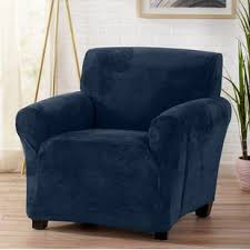 blue chair slipcover. Beautiful Chair Quickview Throughout Blue Chair Slipcover E