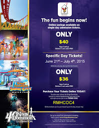 flyers ticket prices your summer fun at kings dominion can help the house ronald