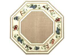 octagonal area rug octagonal area rug octagon rugs inspiring kitchen 5 fruits beige brown washable gs
