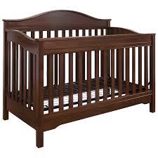eddie bauer langley in convertible crib  walnut  baby cribs