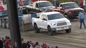 2009 Toyota Tundra TRD Truck Pull FAIL!!! - YouTube