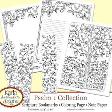 Psalm 23 Coloring Pages