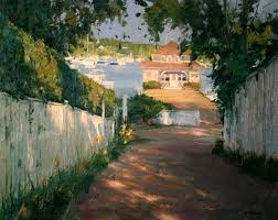 looking east plein air painters of america at tree s place gallery orleans ma