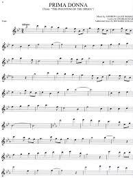 phantom of the opera song sheet music free online flute sheet music the phantom of the opera sheet