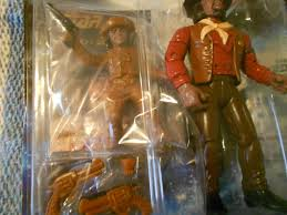Star Trek Action Figures lot of 4: Klingons Worf, Alexander, Sisko ...