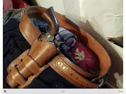 how stiff should a finished western holster be