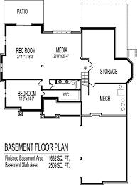 2 story house plans with basement. Modren Plans 6 Bedroom 2 Story House Plan Intended Plans With Basement R