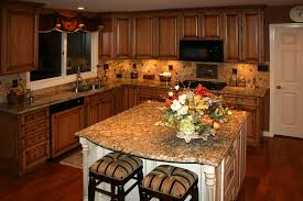 maple kitchen cabinets backsplash. Kitchen. Beautiful Maple Kitchen Cabinets With Flower And Nice BackSplash . Backsplash B