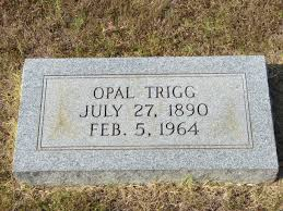 Opal Sims Trigg (1890-1964) - Find A Grave Memorial