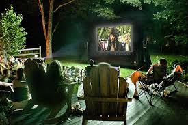 Backyard Movie Theater  Home Outdoor DecorationMovie Backyard