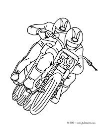 Coloriage Dessiner Moto Et Quad