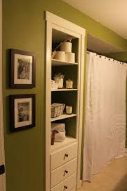 Bathroom Built In Wall Shelves