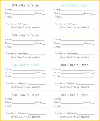 Benefit Ticket Template Bbq Tickets Template Musacreative Co