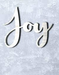 joy metal wall art home decor sayings lettering