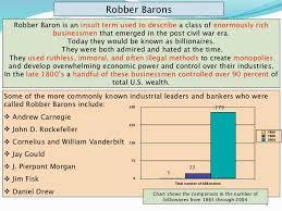robber baronsor captainsofindustryppt robber barons
