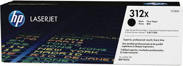 <b>Тонер</b>-<b>картридж HP 312X</b> (CF380X), черный, для лазерного ...